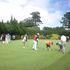 on ジュニアゴルフ教室