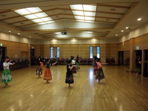 フィットネスフラダンス教室