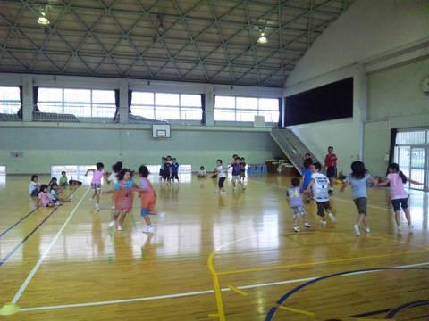 広っ子スポーツ教室でコーディネー