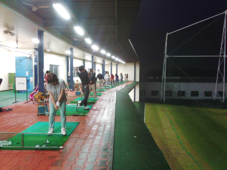 ゴルフ教室です(✿◕‿◡)